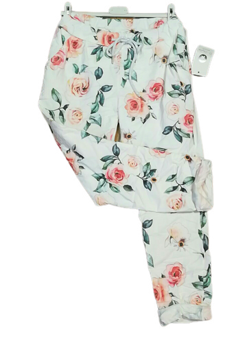Rose Print Magic Trousers one size 10/16 £25