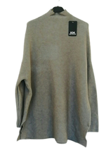 Load image into Gallery viewer, Longline Oversized Jumper - one size 10/18 £40 SALE £15 NO RETURN