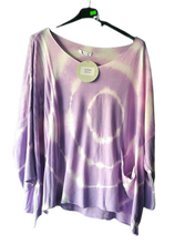 Load image into Gallery viewer, Tye Dye Fine Layering Knit - one size 14/18 £28