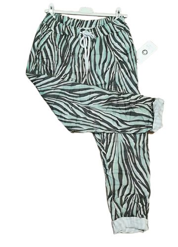 Spring Zebra Print Magic Trousers one size £25