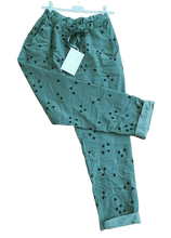 Load image into Gallery viewer, Star Print Magic Trousers one size 16/20 £28
