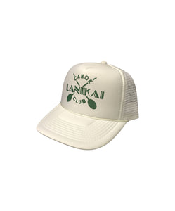 Lanikai Canoe Club Trucker Hat - LCC Cross Paddles