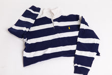 Ralph Lauren Cropped Rugby - Blue and White