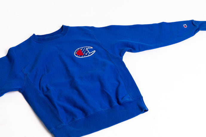 Champion Blue Pullover Sweater