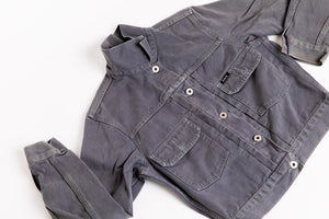 Guess Fitted Jean Jacket - Grey