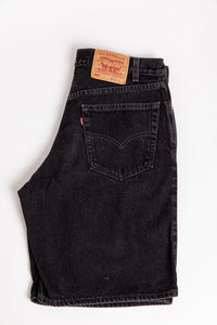 Levi's 550 Long Shorts - Black