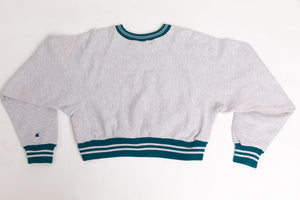 Champion Reconstructed Cropped Sweater - Women