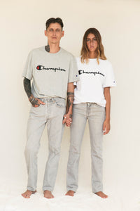 Champion Embroidered T-Shirt - White