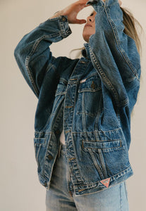 Guess Marciano Jean Jacket - Classic Blue