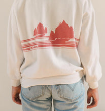 """Hong Kong"" White Pullover Sweater"
