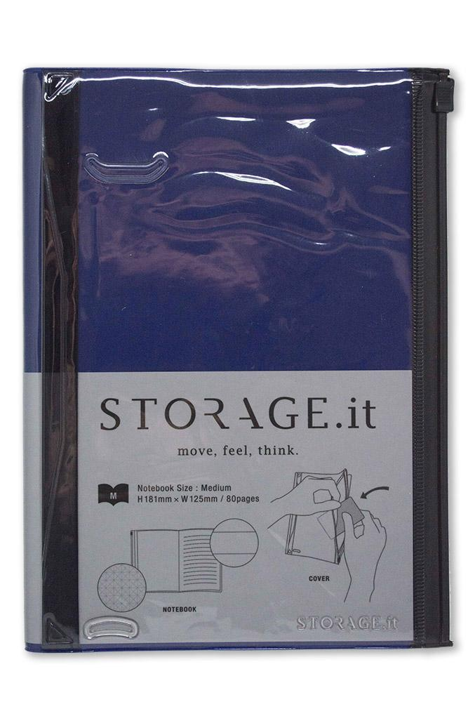 Storage.it notebook blue (181 x 125 mm)