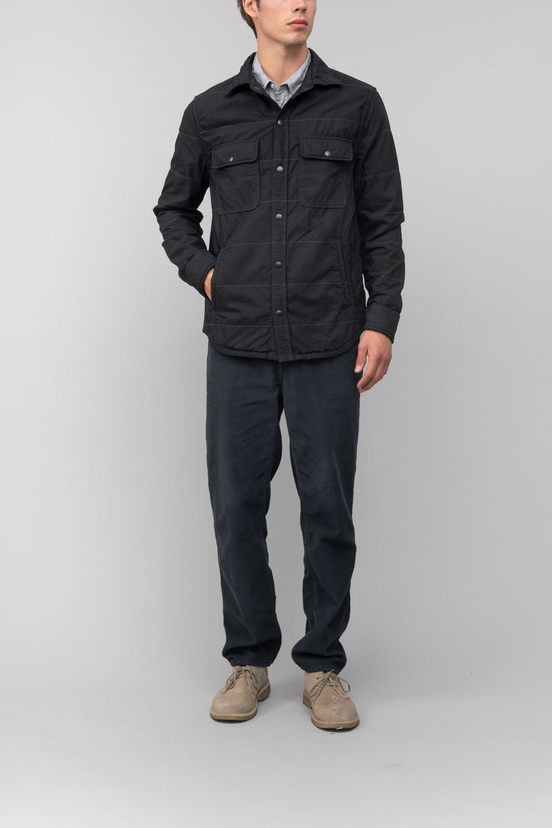 Quilted CPO Shirt Jacket