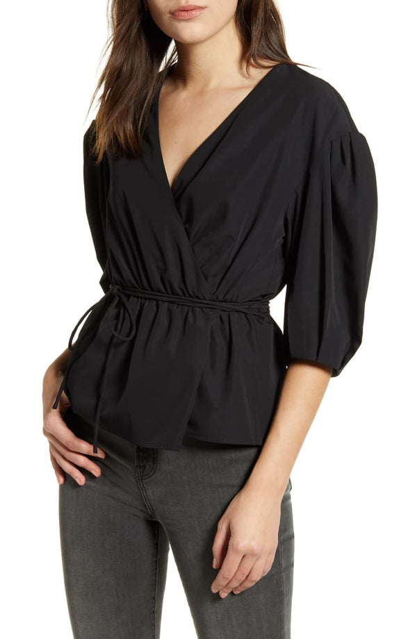 Rebecca Minkoff Mary Wrap Top