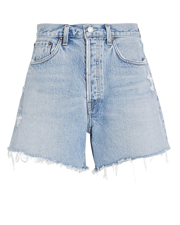 Parker Long Denim Short