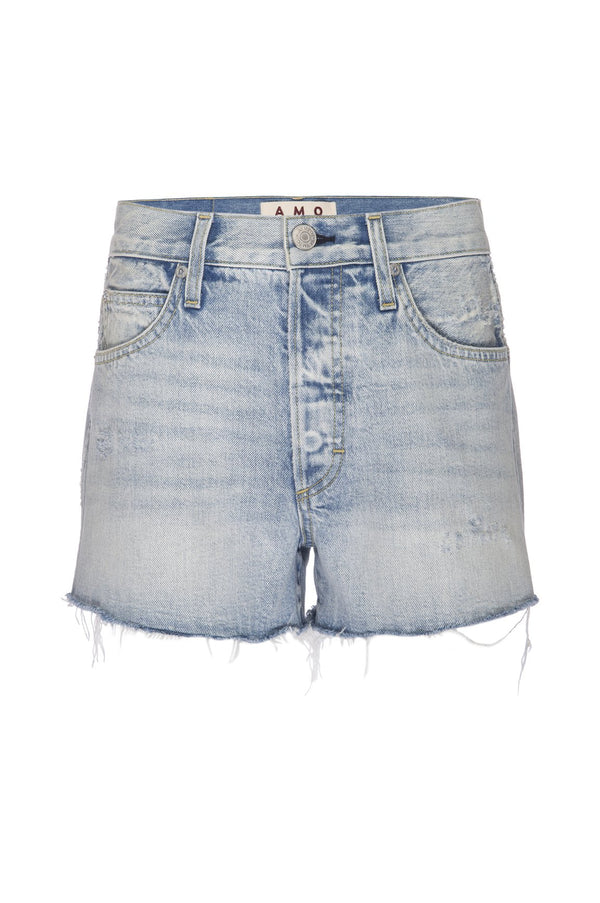 Loverboy Cutoff Denim Shorts