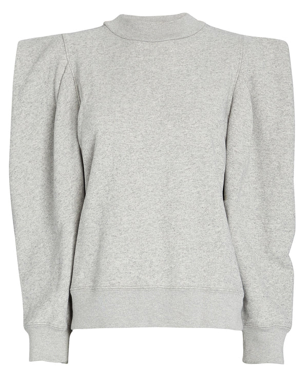 Folded Sleeve Sweatshirt