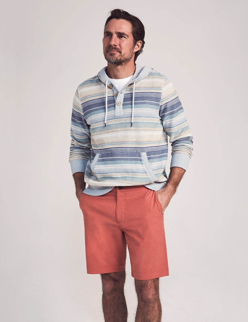 Faherty All Day Shorts Venice Red