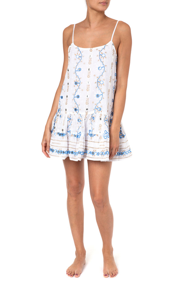Juliet Dunn Nomad Print Cami Dress