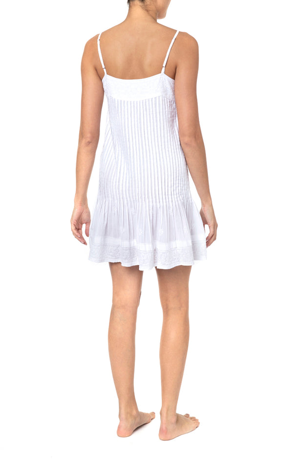 Juliet Dunn Pintuck Cami Dress