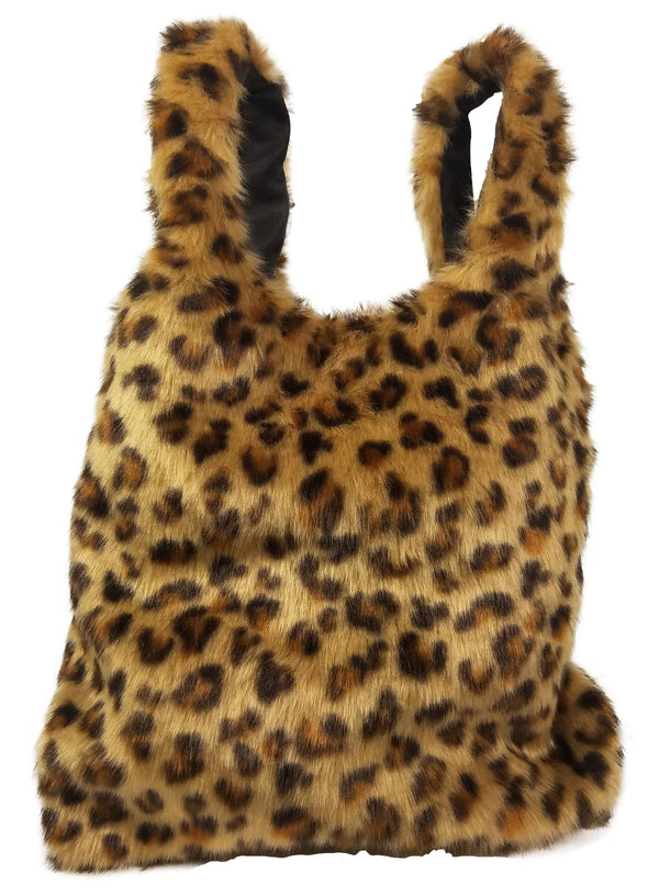 Faux Fur Handheld Bag