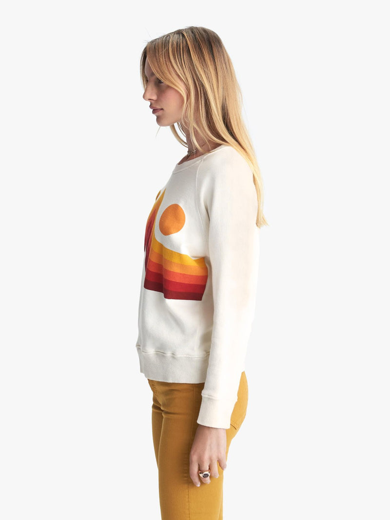 Mother Sunset Square Crew Neck Sweatshirt