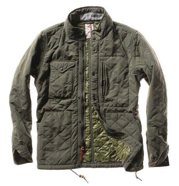Quilted Tanker Jacket