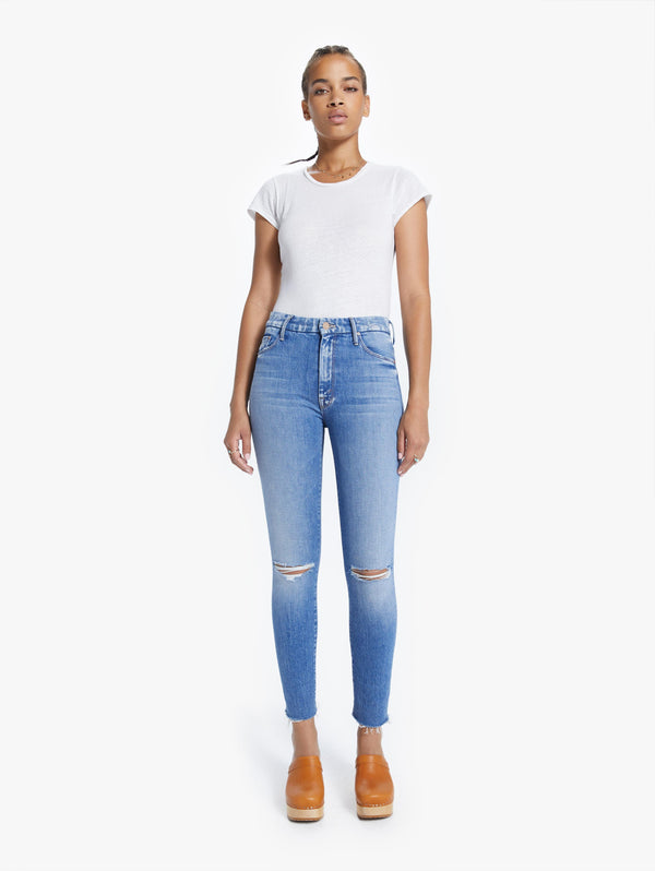 High Waisted Looker Ankle Jeans