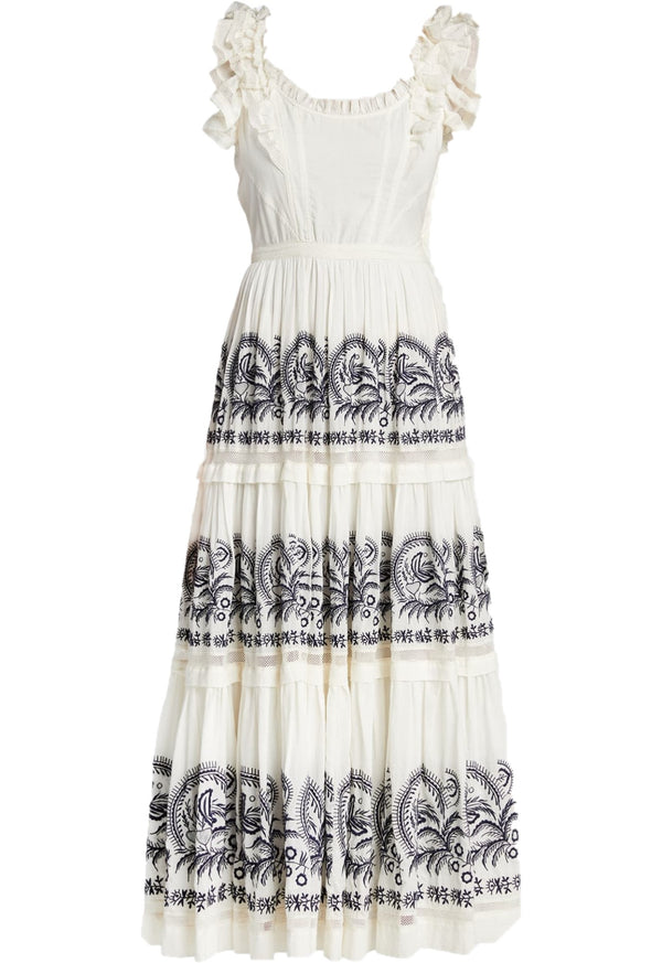 Julietta Embroidered Dress
