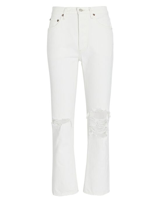 Riley High-Rise Cropped Jean