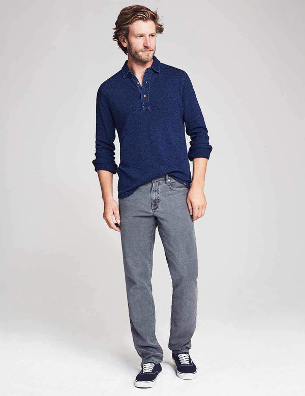 Stretch Terry 5-Pocket Pant