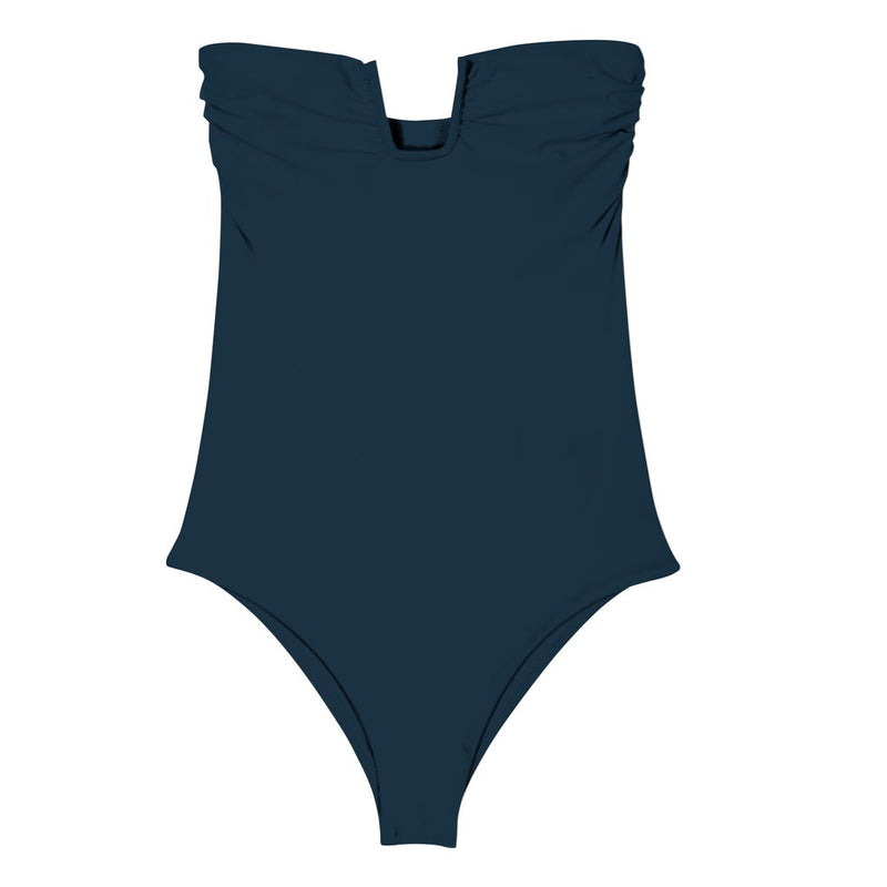 Mikoh Kanani One Piece Bathing Suit Ocean Navy