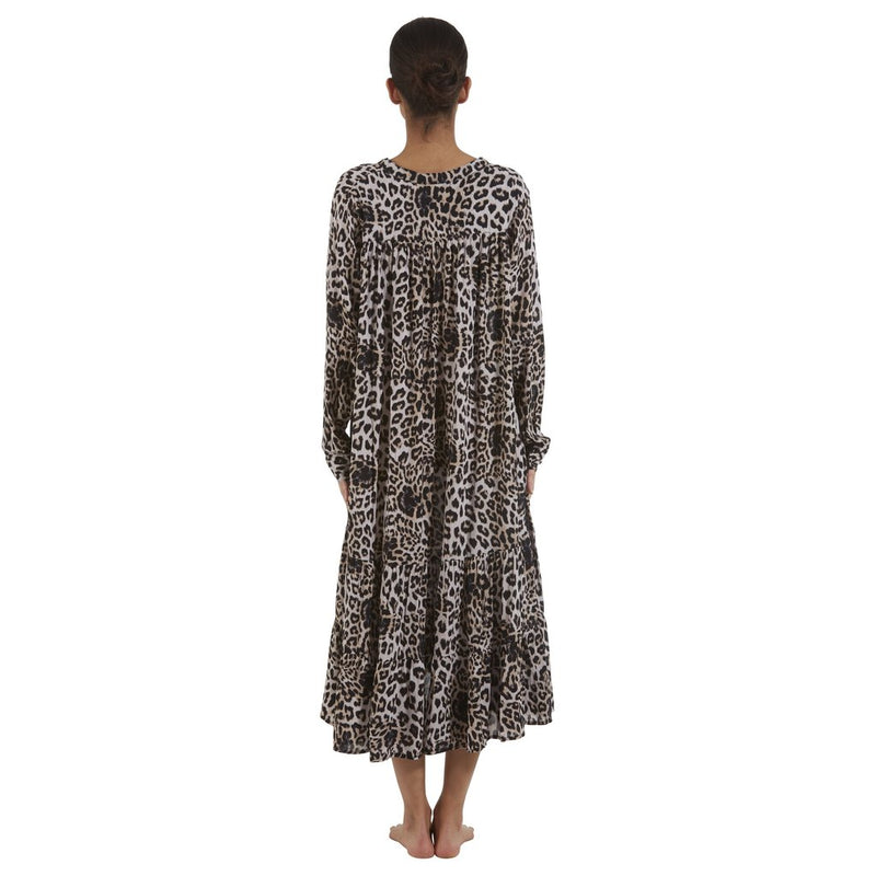 Mikoh Labasa Long Sleeve Dress