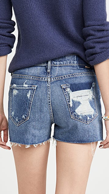 Dutchie Frayed Jean Shorts