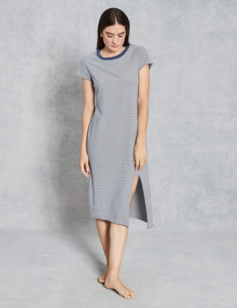 Asymmetrical T-Shirt Dress