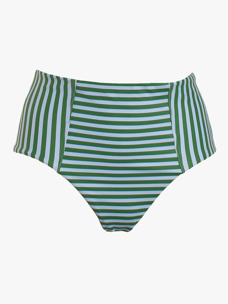 Serena Striped Bikini Bottoms