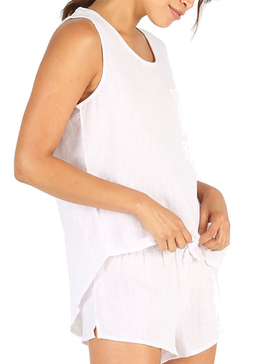 Organic Cotton Soft Blush Cami