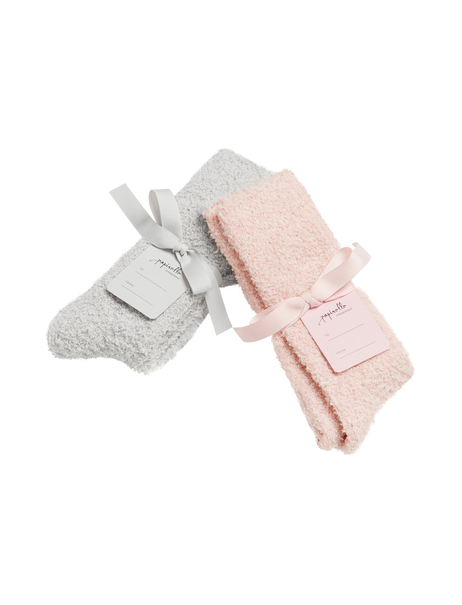 Cozy Bed Socks in Pink