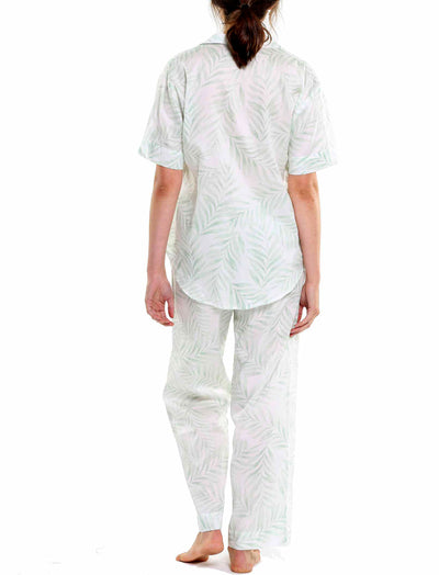 Beverly Palms Short Sleeve Shirt and Pant PJ