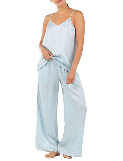 Blue Spot Luxe Cami and Wide Leg Pant