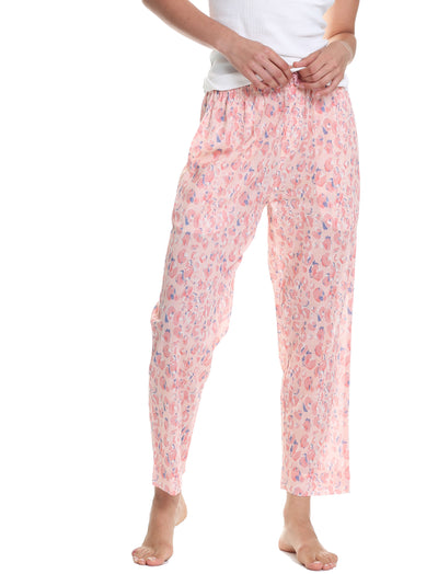 Cheetah Pink Full Length Pant