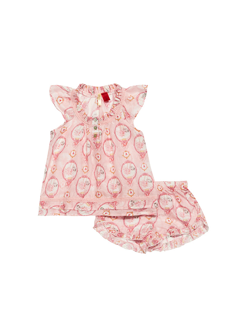 Kids Claris the Mouse Flutter Cami & Boxer