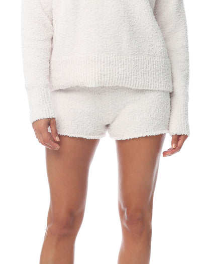 Cozy Knit Bikeshort in Romance
