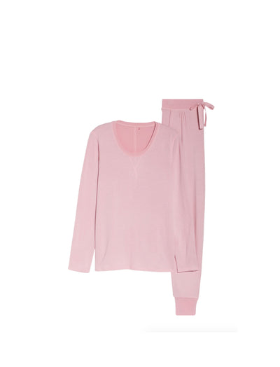 Feather Soft Jogger Pant in Peony Pink