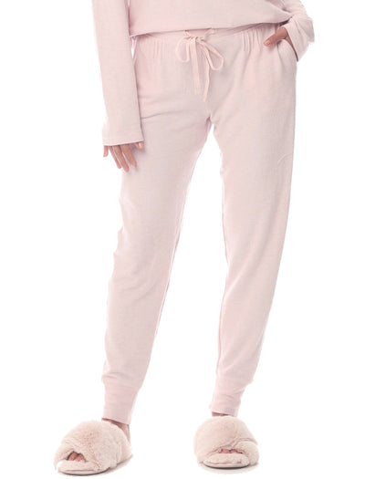 Feather Soft Jogger in Light Pink