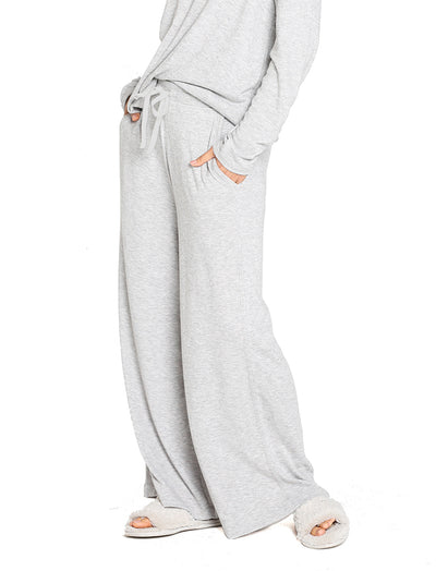 Feather Soft Grey Wide Leg Pant