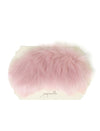 Fluffy Eye Mask in Dusty Pink