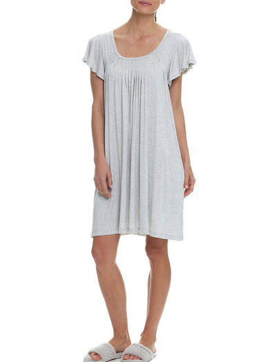 Modal Flutter Nightie, Grey