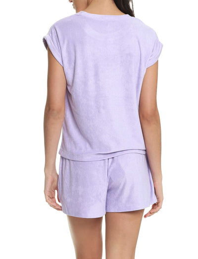 French Terry Boxer in Lilac