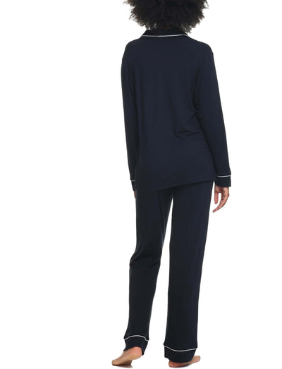 Modal Kate Best-Selling pyjamas Black Back