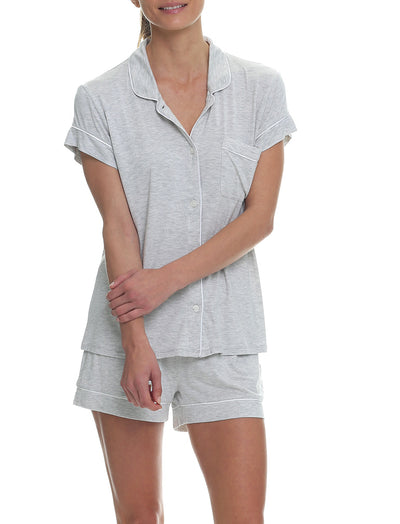 Modal Kate Boxer PJ Set, Grey
